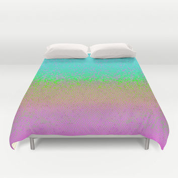 Glitter Star Dust G245 Duvet Cover by MedusArt