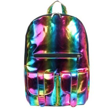 Fashion Laser Backpack School Bag