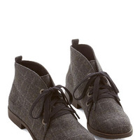 ModCloth Menswear Inspired Smart Strides Bootie