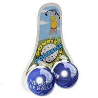 DOUBLE TROUBLE GOLF BALLS - BLUE BALLS - Whimsical & Unique Gift Ideas for the Coolest Gift Givers