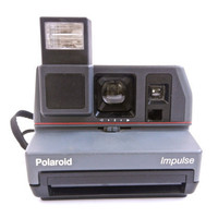 Vintage Polaroid Impulse Camera / 1980s Instant Camera