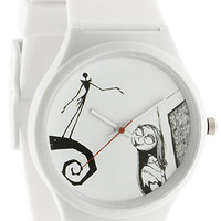 The Tim Burton The Nightmare Before Christmas Prologue Watch in White
