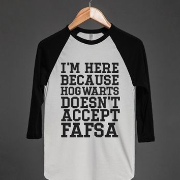 Hogwarts Doesn't Accept FASFA