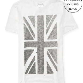 Brooklyn Calling Union Jack Graphic T