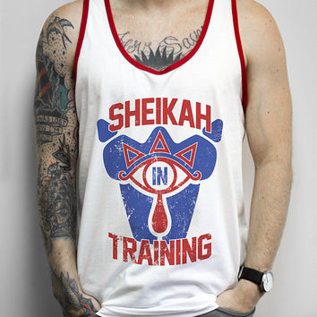 Sheikah In Training - Zelda shirt, nerdy, gaming, retro, nintendo, classic, link, majoras mask, geek, nerd, shirts, clothing, tank tops,