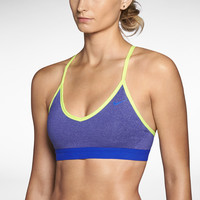 Nike Pro Indy Women's Sports Bra - Deep Royal Heather