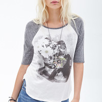 Photo Graphic Baseball Tee