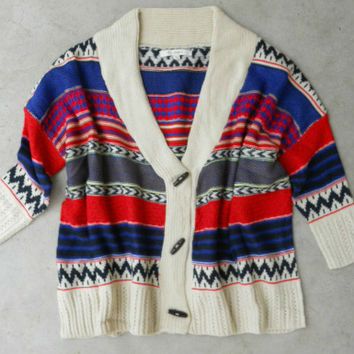 Native Winds Knit Cardigan [5933] - $46.80 : Vintage Inspired Clothing & Affordable Dresses, deloom | Modern. Vintage. Crafted.