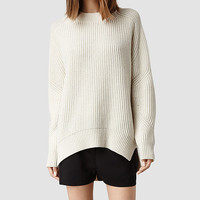 Womens Quinta Sweater (Chalk) | ALLSAINTS.com