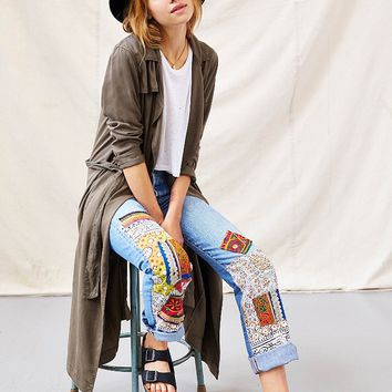 Urban Renewal Foreign Bazaar Patched Jean - Urban Outfitters
