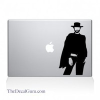 Clint Eastwood Macbook Decal