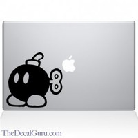 Mario Bomber Macbook Decal