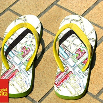 Flip Flops - Paris Map