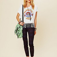Free People Tribal Print Ankle Crop