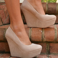 Dalila wedge, nude | Chapter 2 Boutique