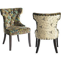 Peacock Tufted Dining Chair
