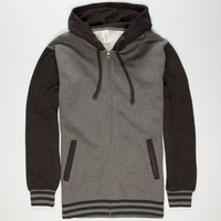 STANDARD SUPPLY Mens Varsity Zip Hoodie