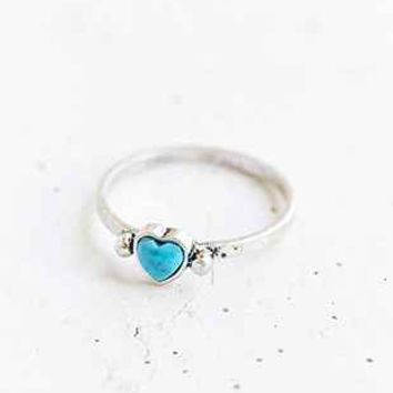 Stone Cold Heart Ring - Urban Outfitters