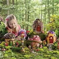 Fairy Village Special - Fairy Set of 5 Fairy Houses