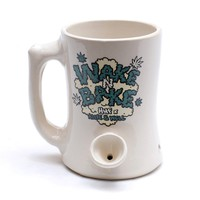 HUF | HUF X ALIVE & WELL WAKE AND BAKE MUG // WHITE