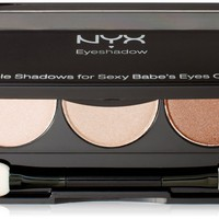 NYX Trio Eye Shadow 04 Baby Blue - October - Sky Pacific