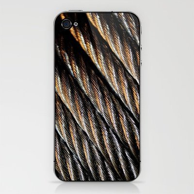 Braids of Silver and Gold iPhone & iPod Skin by John Dunbar | Society6