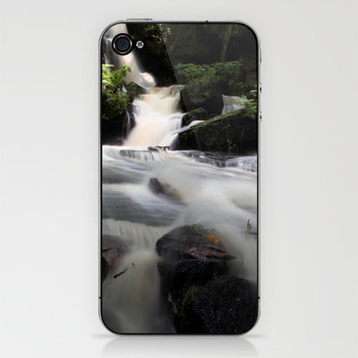 Waterfalls After the rains iPhone & iPod Skin by John Dunbar | Society6