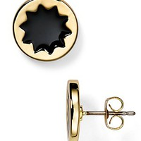 House of Harlow 1960 Enamel Sunburst Stud Earrings