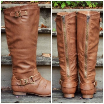 Maplewood Trails Cognac Riding Boots