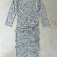 Gray Vagabond Dress [5986] - $30.60 : Vintage Inspired Clothing & Affordable Dresses, deloom | Modern. Vintage. Crafted.