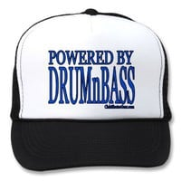 powered by DRUMnBASS Trucker Hats from Zazzle.com