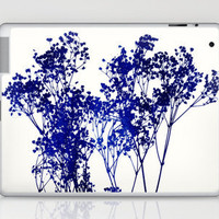 Baby&#x27;s Breath_Blue Laptop &amp; iPad Skin by Garima Dhawan | Society6