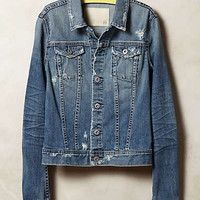 AG Distressed Denim Jacket