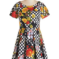 Darling Decoupage Dress | Mod Retro Vintage Dresses | ModCloth.com