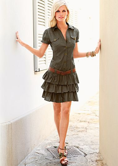 Cargo dress in the VENUS Line of Dresses for Women