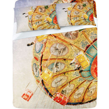 DENY Designs Home Accessories | Lisa Argyropoulos Sea Swings Sheet Set