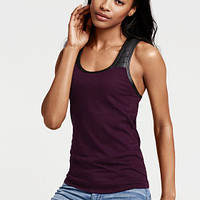 Racerback Moto Tank - Dream Tees - Victoria's Secret