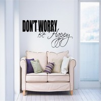 Don't worry be happy - G Direct Wall Stickers