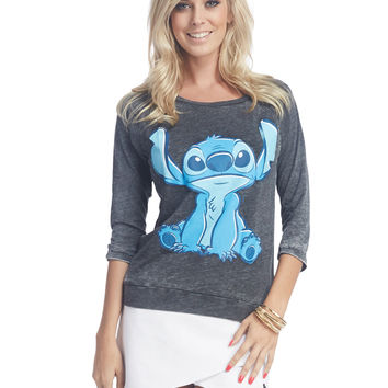 Lilo and Stitch™ Burnout Tee | Wet Seal