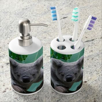 Koala Bear Bath Set