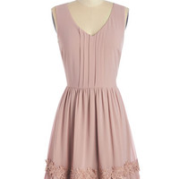 ModCloth Pastel Mid-length Sleeveless A-line Pastoral Poetry Dress