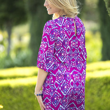 Ikat You Staring Shift Dress