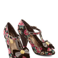 ModCloth Luxe Rose Garden Party Heel