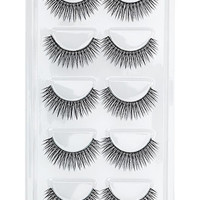 Set of Ten Faux Lashes