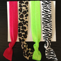 Wild One Elastic Hair Ties (and bracelets) Collection