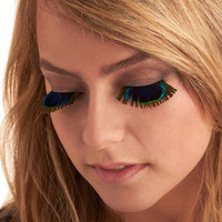 Peek of Peacock Lashes | Mod Retro Vintage Cosmetics | ModCloth.com