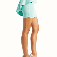 peplum-skirt BLACK FUCHSIA HGREEN JADE LIME MINT PEACH ROYAL TAUPE - GoJane.com