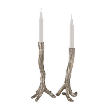 Sterling Industries Composite Candlestick (Set of 2)