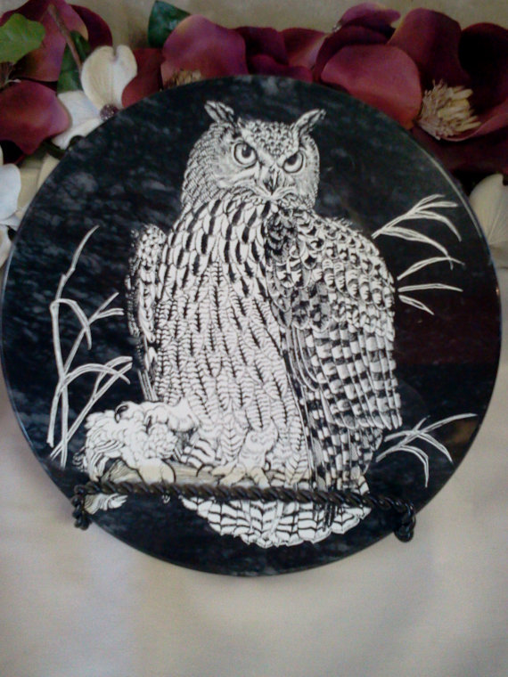 Owl Hot Plate Trivet
