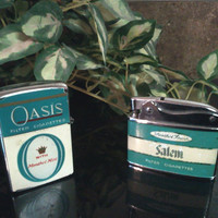 Vintage Cigarette Lighters Salem Oasis